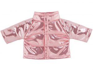 Daunenjacke rosa