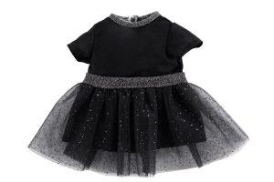 Abendkleid schwarz/Glitzer