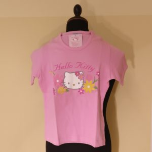 Hello Kitty Flower pink Tshirt