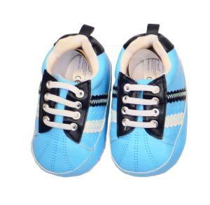 Schuhe Hellblau