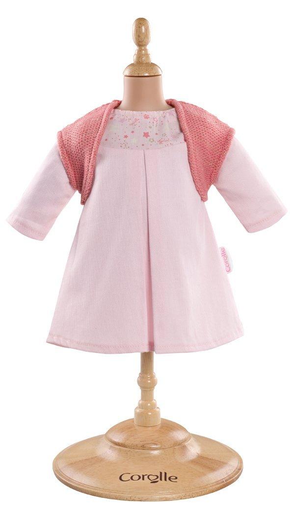 Kleid rosa & Weste