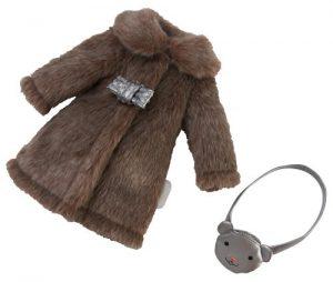Mantel und Tasche