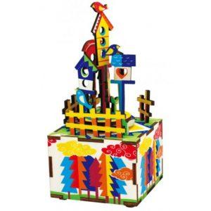 Burg im Himmel Puzzle