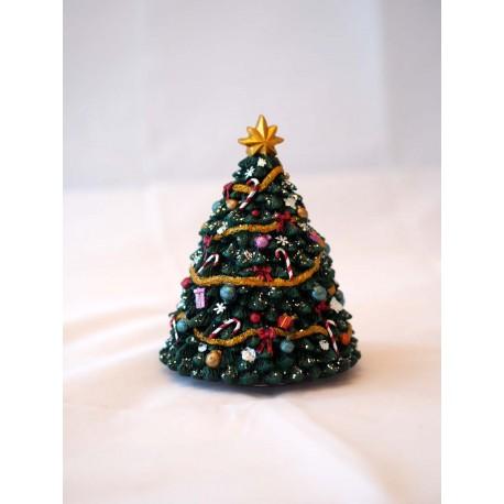 Geschmückter Weihnachtsbaum klein