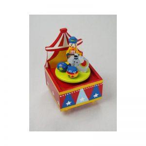 Spieluhr Tanzender Zirkus