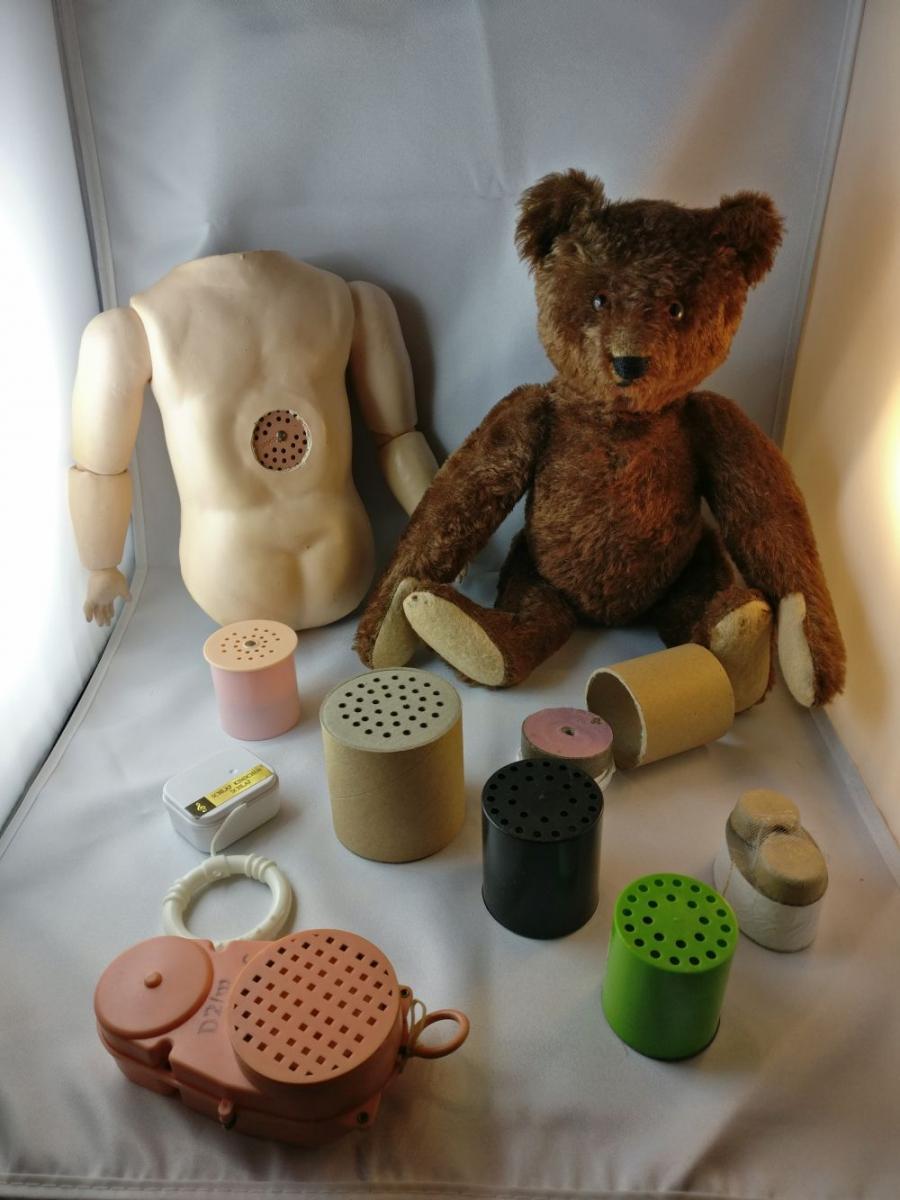 Material Puppenstimmen Bärenstimmen